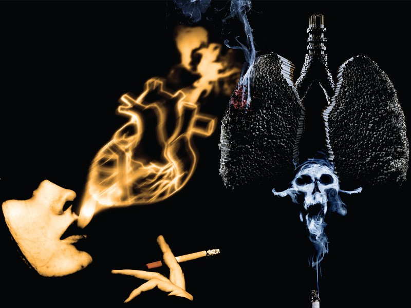Smoking hates your health